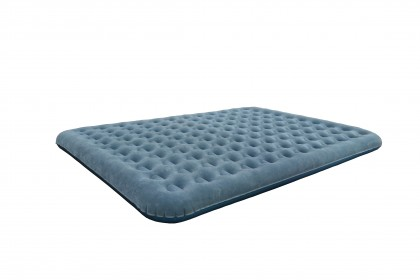 120 Coils Flat Flocked Air Bed