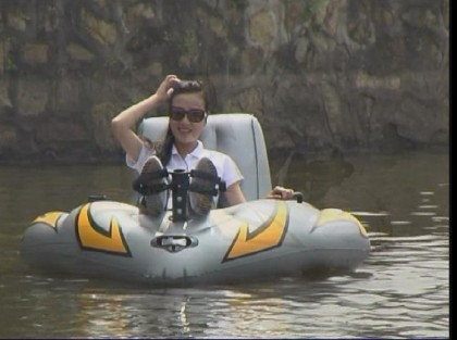 One Person Pedal Boat